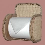 rattan toilet tissue holder