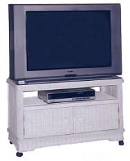 wicker television furniture - wide tv console #5086