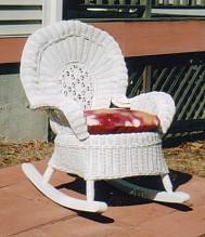 wicker childrens furniture - rocker #5070-9