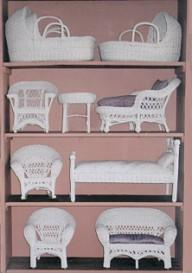 doll wicker furniture