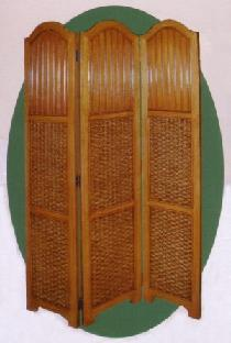 beadboard wicker screen