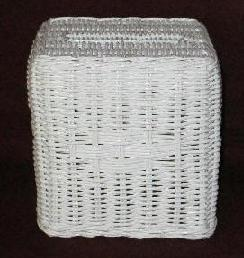 wicker tissue box holder
