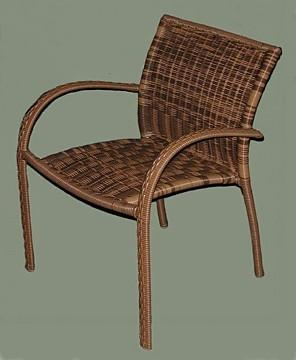 patio chair brown color
