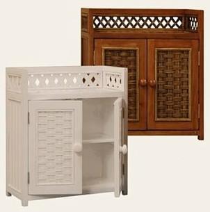Wood Wicker Furniture Beadboard Furniture Cottage Wicker