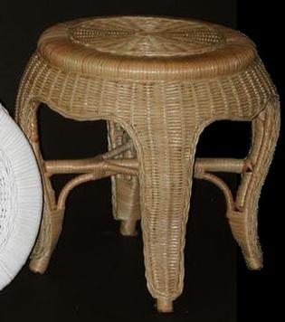 round bathgroom stool