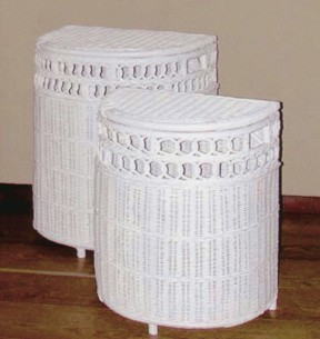 white wicker hampers