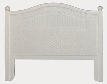 Beadboard Headboard Roma Twin Saah Furniture