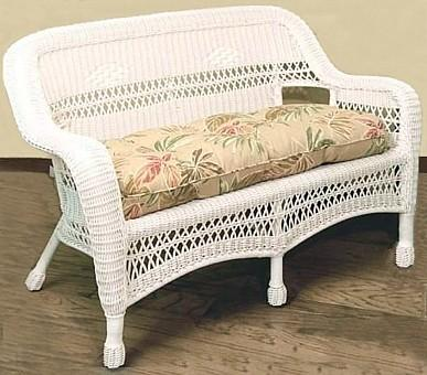 resin wicker loveseat