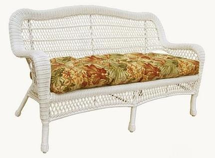 Wicker Loveseat Cushion Everyday Sofa