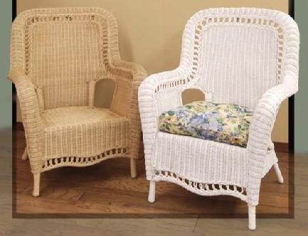 wicker armchair #4205