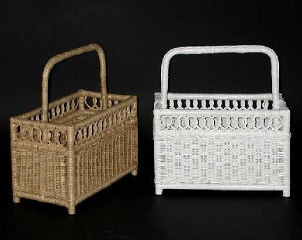 wicker baskets for magazines #4542