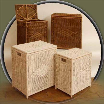 wicker clothes hampers