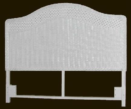 Wicker Headboard Queen Size