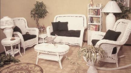 indoor wicker furniture or living room set #4205