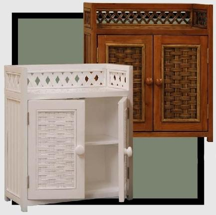 very decorative beadboard wall cabinet