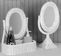 wicker bathroom accessories