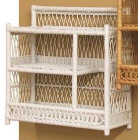 Wicker Bathroom Wall Shelf, Wicker Shelves For Bathroom