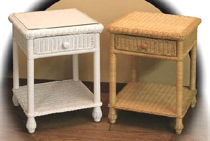 Superieur Wicker Bedside Night Stands